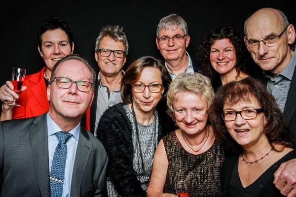 Fotobox in der Heilbronn Harmonie - Gruppe von Menschen