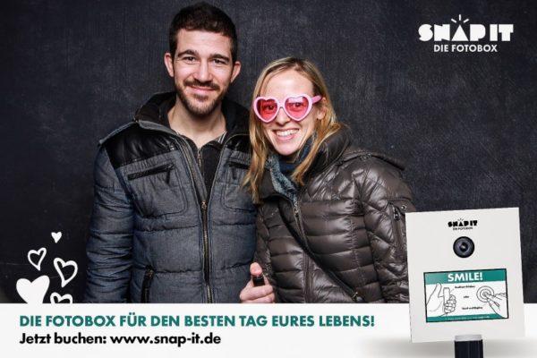 Brillen und Verkleidung für Fotobox