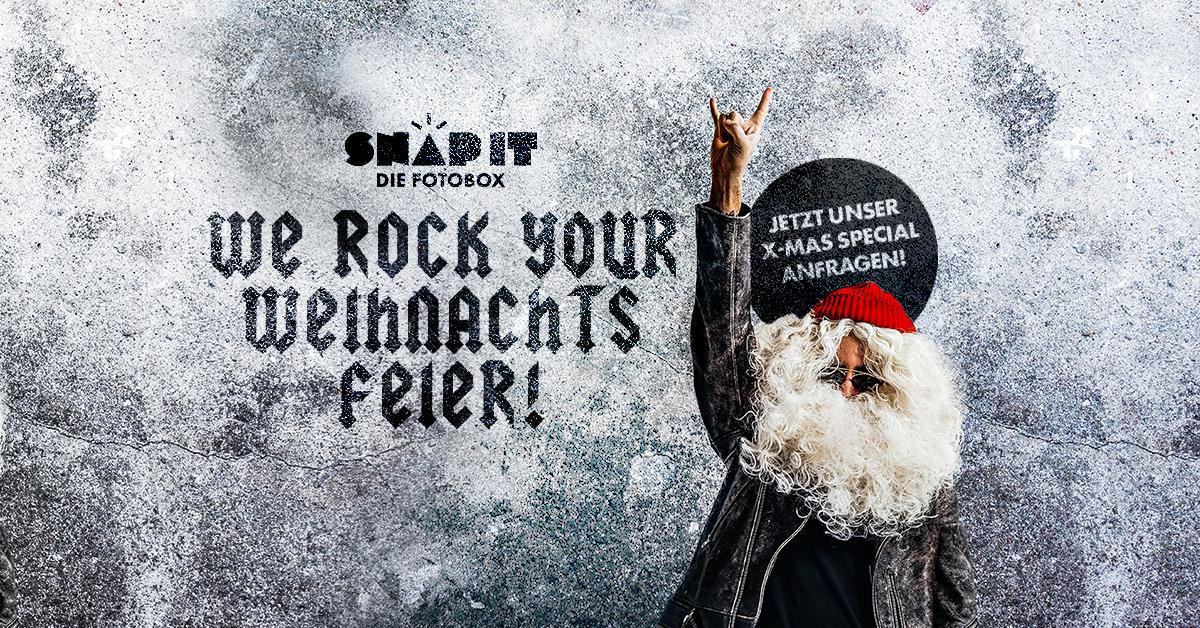 X-Mas Weihnachtsfeier Heilbronn Fotobox